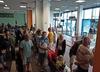 Turyści utknęli na lotnisku w Katowicach