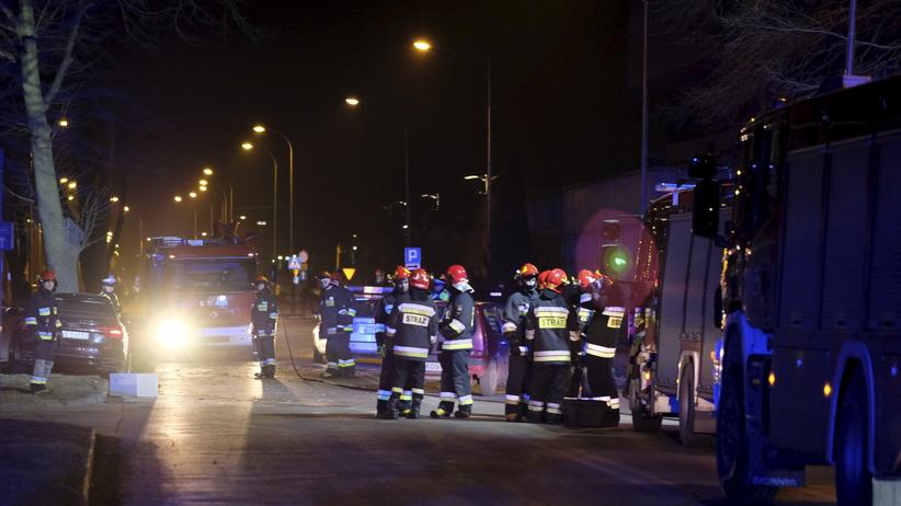 Wypadek premier Szydło