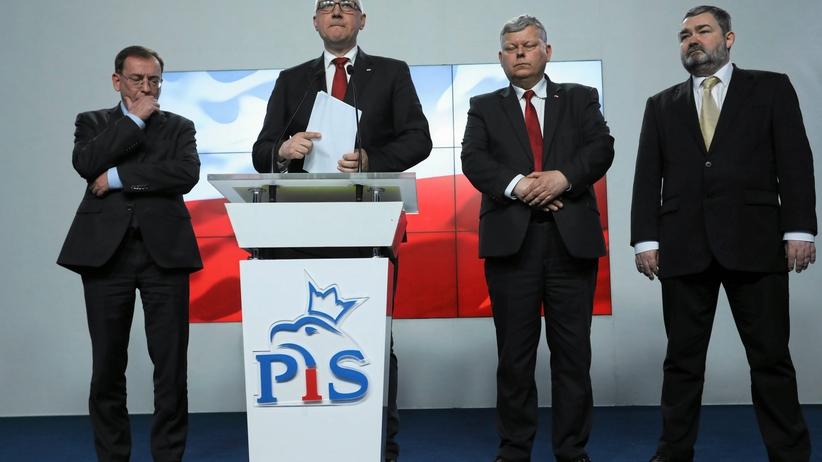 Brudziński: zażenowani tym, co się działo wokół Misiewicza, chcemy powiedzieć przepraszam