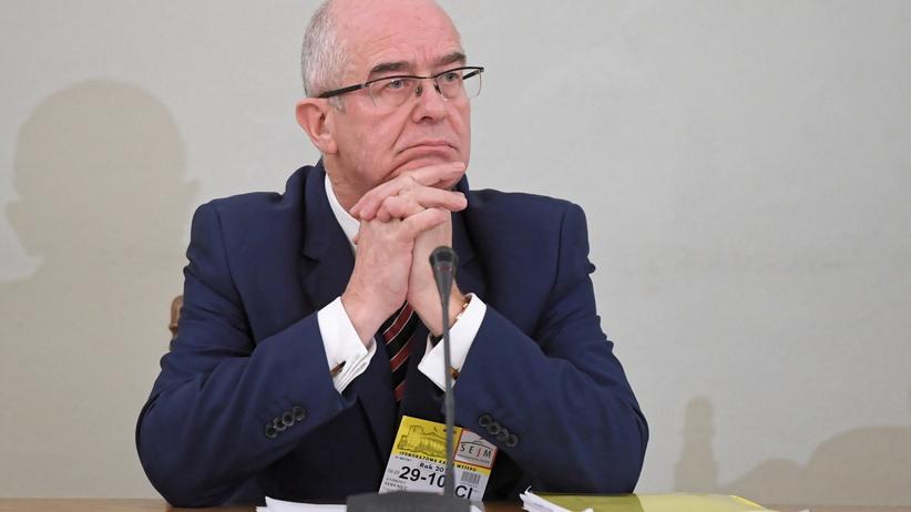 Andrzej Seremet przed komisją śledczą do spraw VAT