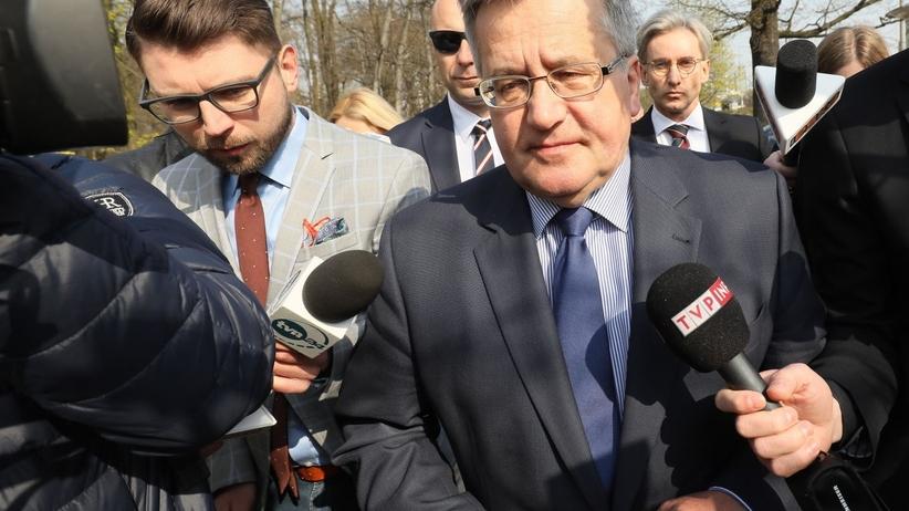 Komorowski w prokuraturze