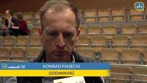 Tym razem to Konrad Piasecki odpowiadał na pytania. Zobaczcie, jak przepytali go studenci