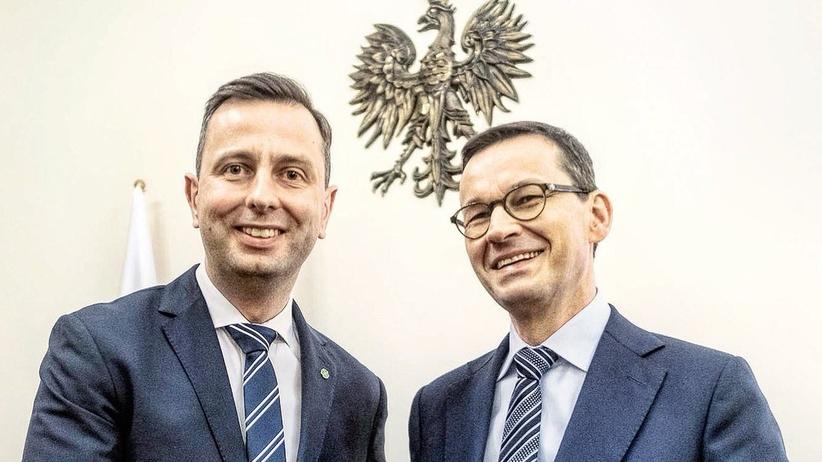 Kosiniak-Kamysz spotkał się z premierem. Panowie przekazali sobie znak pokoju