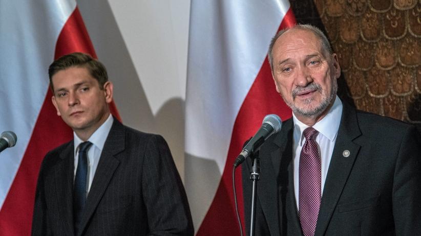 Niemiecki dziennik: wiceszef MON miał tajemnicze kontakty z Rosją
