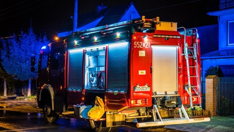 Pijany i pod wpływem narkotyków ukradł wóz strażacki. Doszło do kolizji