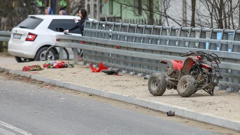 9-latek, który na quadzie wjechał pod auto, zmarł. Lekarze robili, co mogli