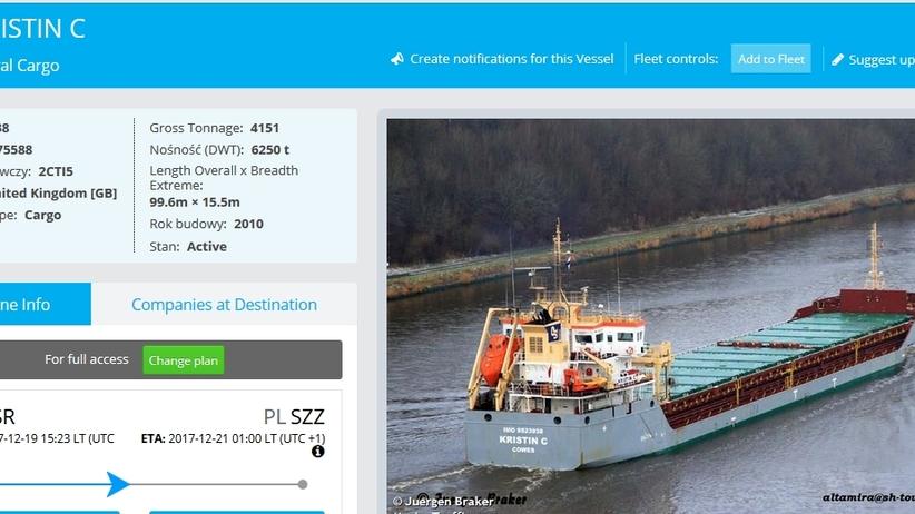 Statek z nielegalnymi migrantami z Syrii miał wpłynąć do Szczecina? Jest stanowisko Straży Granicznej