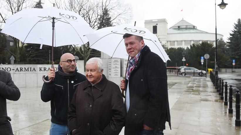 Krzysztof Łoziński potwierdza kandydaturę na przewodniczącego KOD