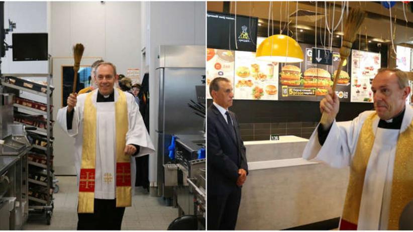 Ksiądz poświęcił McDonalda. Komentarz Episkopatu