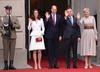 Księżna Kate i książę William w Warszawie