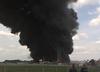 Kujawsko-pomorskie. Pożar w zakładzie przemysłowym pod Toruniem