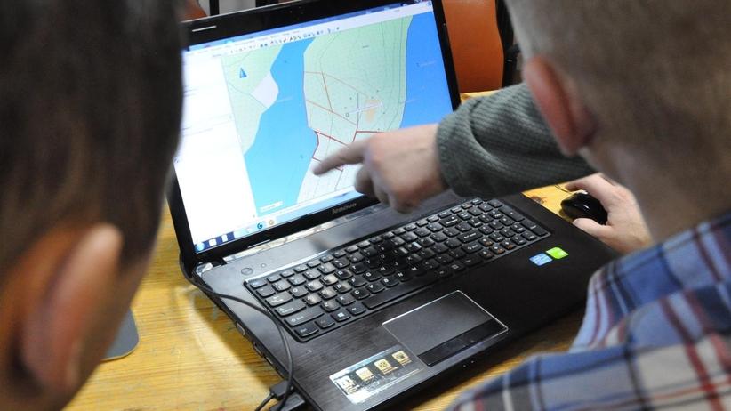 Prawie jak CSI. Policjanci uczą się obsługi nowoczesnej technologii do odnajdywania zaginionych