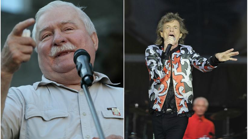 Lech Wałęsa napisał list do Micka Jaggera w sprawie sytuacji w Polsce