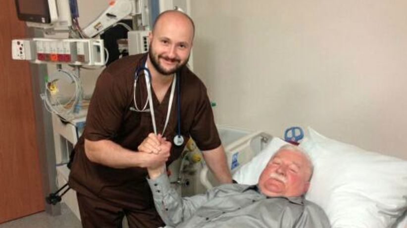 Lech Wałęsa trafił do szpitala. Co będzie z kontrmanifestacją smoleńską?