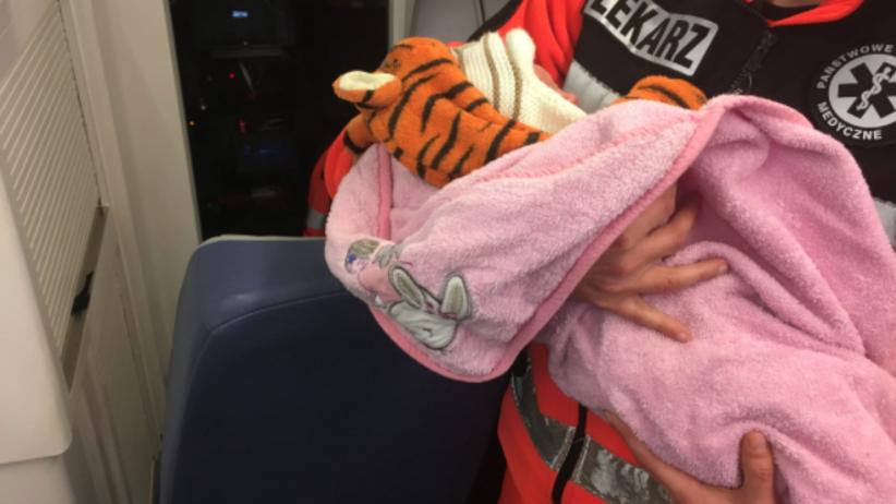 Dzień przed Wigilią w oknie życia znaleziono noworodka