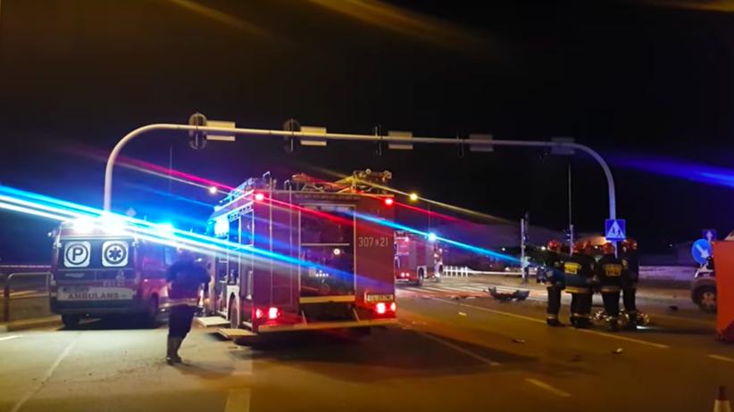 Tragiczny wypadek w Łodzi. Są ofiary śmiertelne