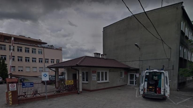 W izbie przyjęć szpitala w Łowiczu podpalił się mężczyzna