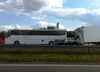 Łódzkie. Na autostradzie A2 autokar z dziećmi zderzył się z busem