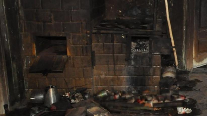Tragiczny pożar domu. Strażacy odnaleźli zwłoki [FOTO]