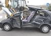 Lina przecięła samochód na pół. Ciężko ranna kobieta trafiła do szpitala