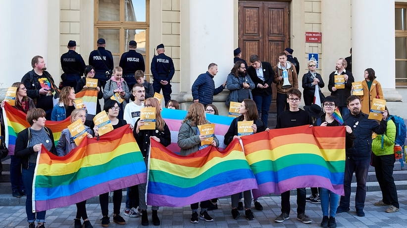 Lublin. Prezydent miasta Krzysztof Żuk zakazał marszu rówości
