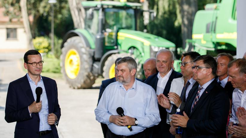 Lubuskie. Premier Mateusz Morawiecki o pomocy dla rolników