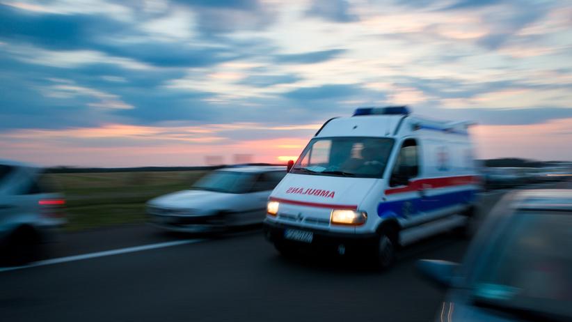 Wypadek autobusu. Kilka osób w szpitalu