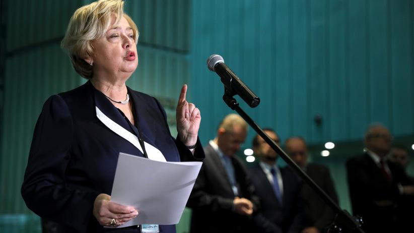 Obywatele RP uhonorowali I prezes SN Małgorzatę Gersdorf
