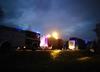 Pożar autokaru w Małopolsce. W środku prawie 60 dzieci