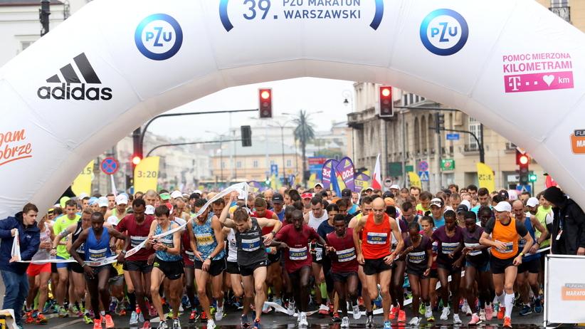 Nie żyje uczestnik Maratonu Warszawskiego. Zasłabł podczas biegu