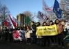 Marsz dla Klimatu w Katowicach. Napadnięto na policjanta, są zatrzymani [WIDEO]