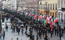 Marsz ONR w Warszawie. Próbowano go zablokować