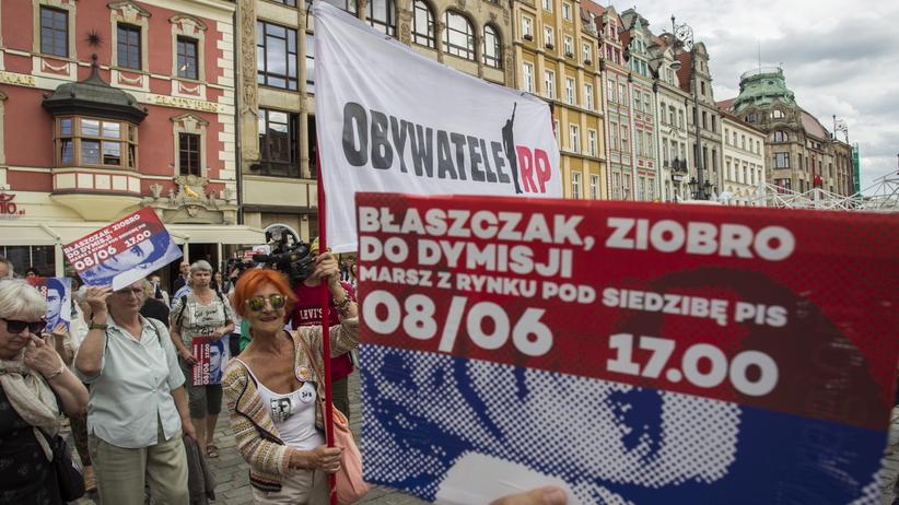 Marsz pamięci Igora Stachowiaka. Domagano się dymisji Błaszczaka i Ziobry