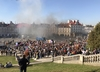 Marsz Równości w Lublinie. Zewsząd wyzwiska, kamienie i petardy, policja użyła siły