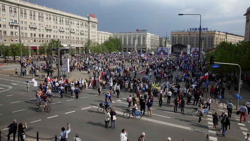 Ile osób uczestniczyło w ''Marszu Wolności''? Rozbieżne dane