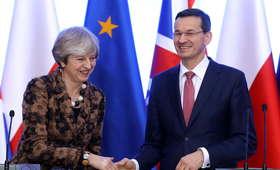 May: bardzo wysoko cenimy Polaków mieszkających w Wielkiej Brytanii