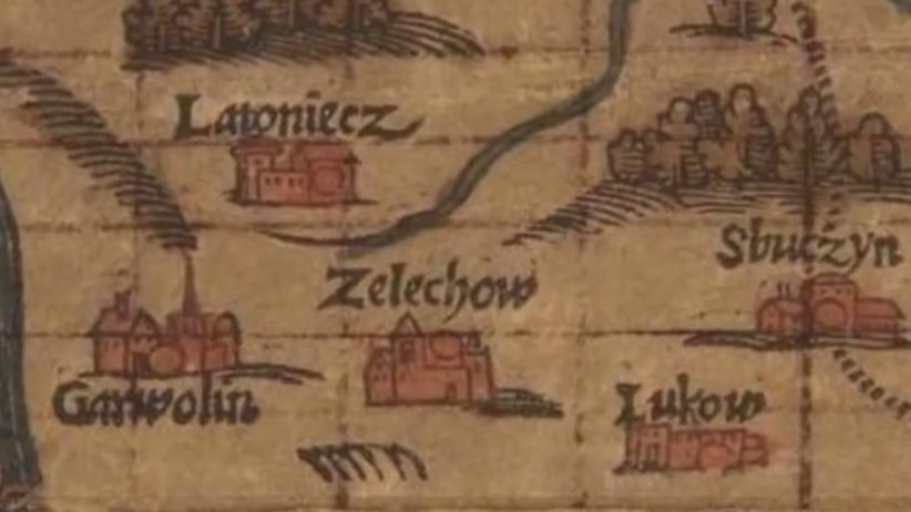 W Żelechowie odnaleziono zaginiony zamek