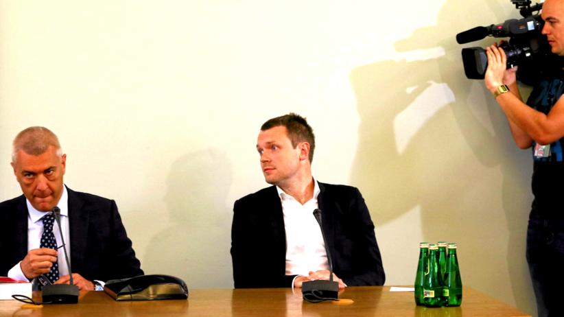 Komisja śledcza przesłuchuje Michała Tuska w sprawie Amber Gold