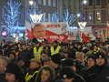 Policja: 11 osób wylegitymowanych podczas miesięcznicy