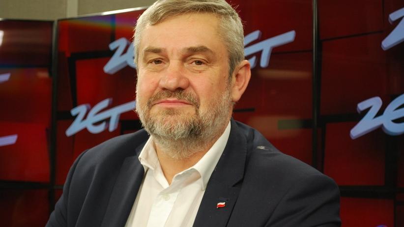 Minister rolnictwa Jan Krzysztof Ardanowski w Gościu Radia ZET