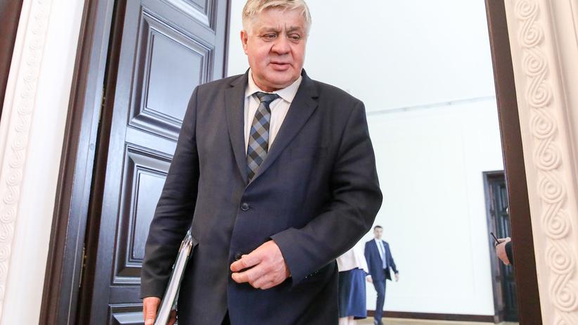 Minister rolnictwa podał się do dymisji