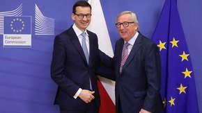 Mateusz Morawiecki zapowiedział spotkanie z szefem KE Jean-Claudem Junckerem