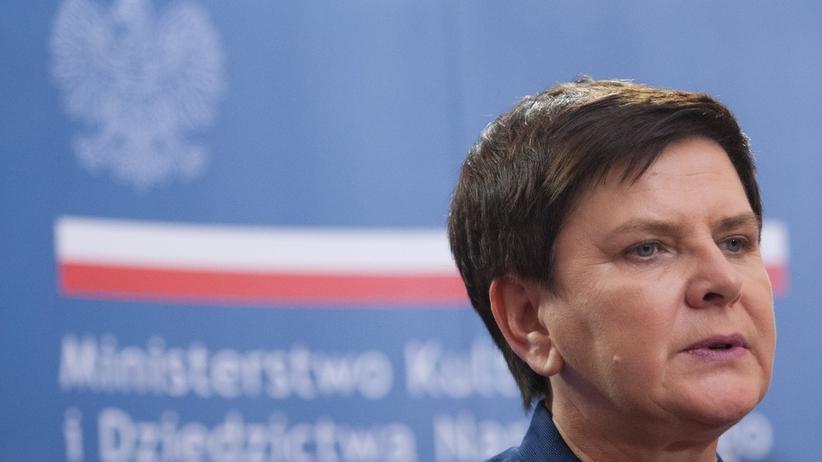 """Morawiecki na taśmach o """"głupich ludziach""""? Beata Szydło: Trzeba ważyć słowa"""
