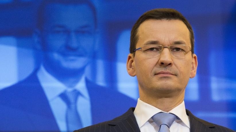 Morawiecki o liście Tuska: radość z głosów wspierających naszą narrację
