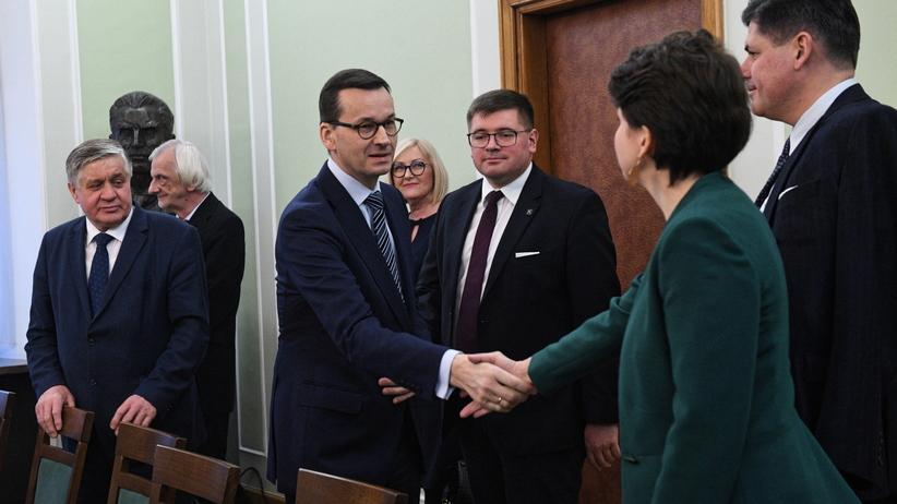 Morawiecki po spotkaniu z liderami opozycji. Padła kwestia zmian w TVP
