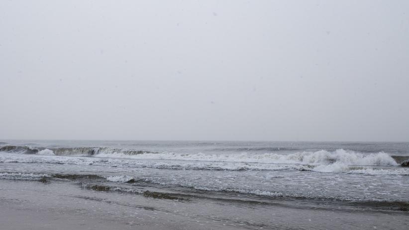 Niezwykłe zjawisko na Bałtyku. Woda słodka i słona wyraźnie przedzielone [FOTO]