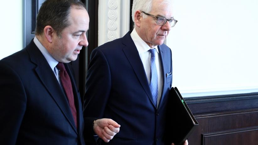 Publikacje Onetu ws. sankcji. Mocna reakcja MSZ