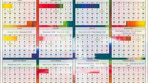 Muzułmański kalendarz a w nim… także katolickie święta