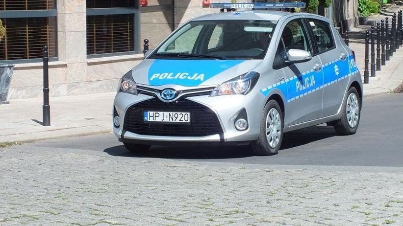 Radiowóz Toyota Yaris