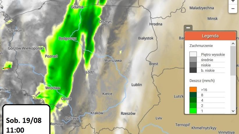 Nad Polską znowu przejdą burze. Wiemy, kiedy i gdzie [MAPY]